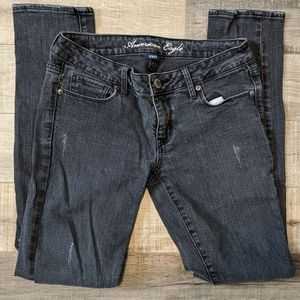 3 for $20 American Eagle Black Skinny Jeans Sz 6